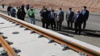 Vali Çakır, hızlı tren ve hava alanı inşaatında incelemelerde bulundu