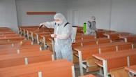 Okullar YKS öncesi dezenfekte edildi