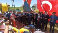 Saraykent'te doğalgaz kaynak töreni düzenlendi