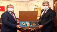 Vali Polat'tan Belediye Başkanı Köse'ye ziyaret