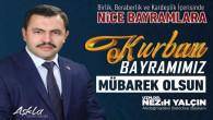 Akdağmadeni Belediye Başkanı Yalçın'dan bayram mesajı