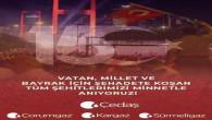 Yozgat Sürmeligaz İşletme Müdürlüğünden 15 Temmuz mesajı