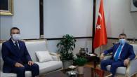 Başkan Dursun'dan Cumhurbaşkanı Yardımcısı Oktay'a ziyaret