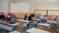 Yazıcı, Seminere katılan öğretmenleri ziyaret etti