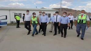 Vali Polat ilçe ziyaretlerini sürdürüyor