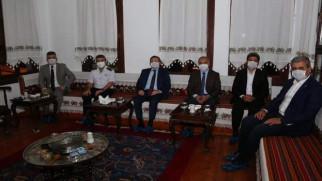 Başkan Köse'den Albay Yeşilyurt'a veda programı