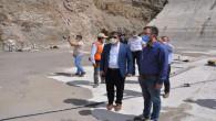 Milletvekili Başer, İnandık Barajında incelemelerde bulundu