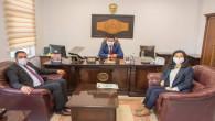 Başkan Ekinci'den yargı mensuplarına ziyaret