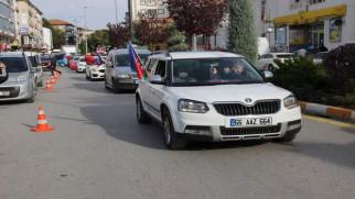 İHH Yozgat Şubesi'nden Azerbaycan'a destek konvoyu