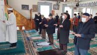Yozgat'ta tüm camilerde Cuma namazı sonrası yağmur duası edildi