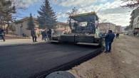 Sorgun Belediyesi asfalt serim çalışmasını sürdürüyor