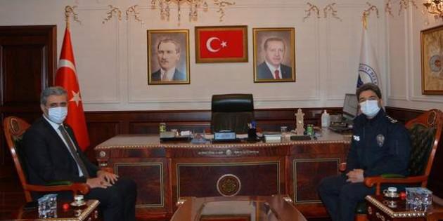 POMEM Müdürü Zafer Kişi'den Başkan Köse'ye ziyaret