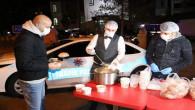 Yozgat Emniyetinden yılbaşı akşamı çorba ikramı