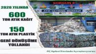 Sorgun Belediyesi 750 Ton kağıt ve atık plastiği geri dönüşüme yolladı