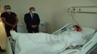 Vali Polat, saldırıyı kınadı