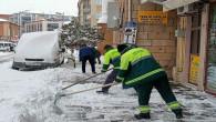 Belediyelerde kar mesaisi başladı