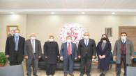 Başkan Başer ve teşkilatından kurum ziyaretleri