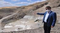 Başer: İnandık Barajı ile 28 Bin 750 dekar arazide sulu tarım yapılabilecek