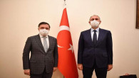 Milletvekili Başer'den Adalet Bakanı Gül'e ziyaret