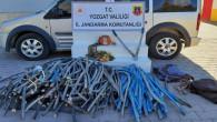Jandarma, kablo hırsızlarını yakaladı: 2 kişi tutuklandı