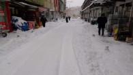 Yozgat'ta kar ve tipi hayatı olumsuz etkiledi