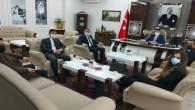 MHP İl Teşkilatından Başsavcı Uçak ve Ağır Ceza Reisi Sazak'a ziyaret