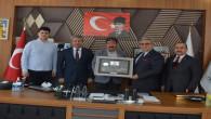 Sivas Ticaret Borsası'ndan Başkan Erkekli'ye ziyaret