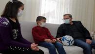 Vali Polat, Çocukların davetine duyarsız kalmadı