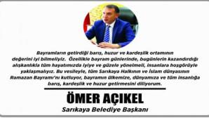 Sarıkaya Belediye Başkanı Açıkel Yozgat halkının bayramını kutladı