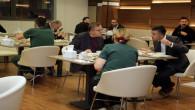 Vali Polat, hastane çalışanları ile iftar yaptı