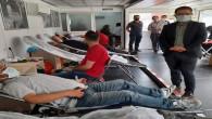 AK Parti Yerköy İlçe Teşkilatından kan bağışı