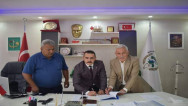 Şefaatli Belediyesi'nde imzalar atıldı