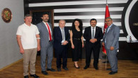 AYDEF yönetiminden Başkan Yalçın'a ziyaret