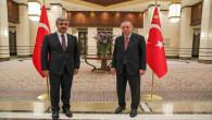Başkan Köse, Cumhurbaşkanı Erdoğan'la Külliye'de bir araya geldi