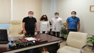 Erciyas'tan hayırlı olsun ziyareti