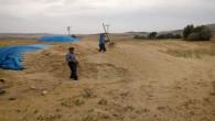 Çiftçiler ellerindeki fazlalık samanı satışa çıkardı