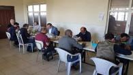 Vali Polat, fabrika çalışanları ile öğle yemeği yedi