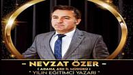 Nevzat Özer, yılın eğitimci yazarı seçildi