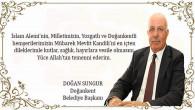Doğankent Belediye Başkanı Sungur'dan kandil mesajı