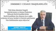 Yozgat SMMMO Başkanı Bulut, Yozgat halkının kandilini kutladı